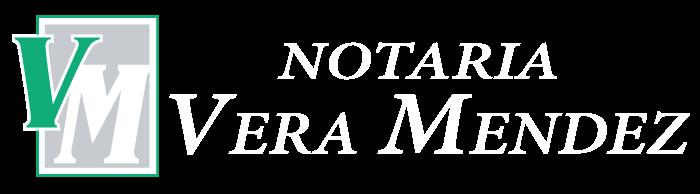 Notaría Vera Méndez Logo